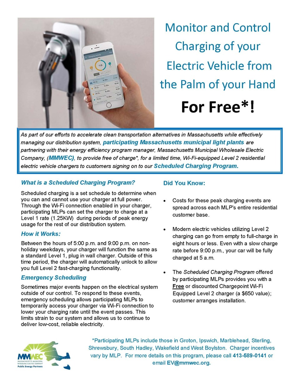 Ev Charger Incentive Munihelps